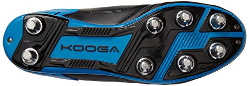 Kooga Advantage - Rugby de sintético hombre negro (negro/azul)