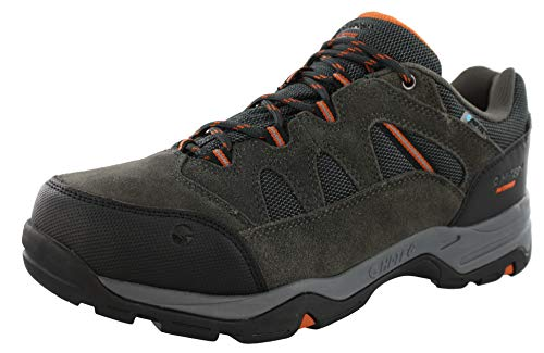 - Hi-Tec Men's Bandera II Low Waterproof Hiking Shoe, Charcoal/Graphite/Burnt Orange, 10 M US
