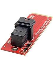 NFHK U.2 U2 Kit SFF-8639 NVME PCIe SSD Adapter for Mainboard Intel SSD 750 p3600 p3700 M.2 SFF-8643 Mini SAS HD