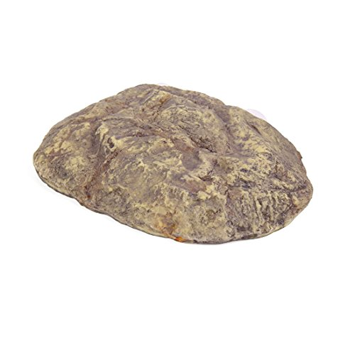 uxcell Resin Stone Rock w Suckers Aquarium Turtle Tank Decor for Turtles Tortoises