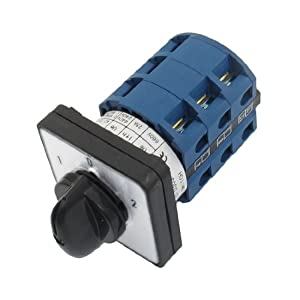 660v 25a 12 screw terminals 3 positions rotary cam changeover 660v 25a 12 screw terminals 3 positions rotary cam changeover switch