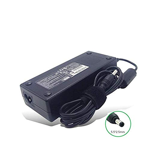 New 19V 6.32A 120W 5.5 X 2.5mm Laptop Adapter PA3717U-1ACA PA5083E-1AC3 Compatible with Toshiba Satellite P25-S670 P25-S676 P25-S6761 AC Charger