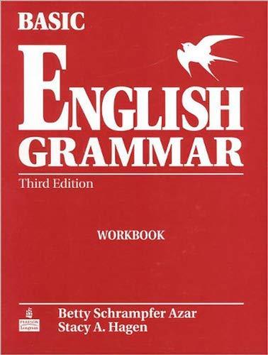 Basic English Grammar Workbook, Third Edition
