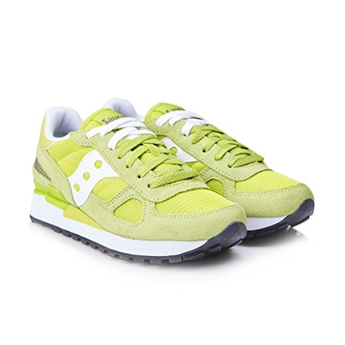 Saucony Sneakers Lime Green/White