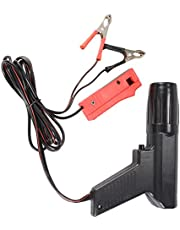 Gaetooely 12V Professional Ignition Timing Light Strobe Lamp Inductive Petrol Engine for Car Motorcycle Marine Tl-122