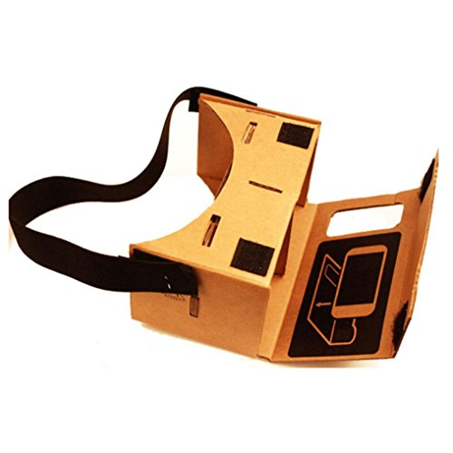 Bolayu New Cardboard Valencia Quality VR Virtual Reality 3D Glasses For - Sunglasses Lcd And Polarized Screens