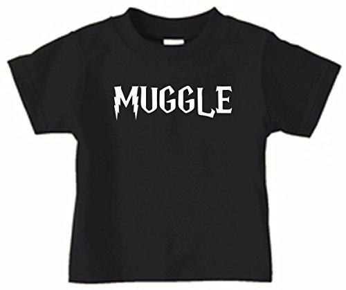 Harry Potter Muggle Toddler T-Shirt - Black, 2T