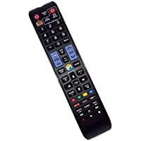 Replaced Remote Control Compatible for Samsung UN55F7500AF UN46F6300 AA59-00784A UN75F6300AFXZA UN65F6350AF TV