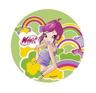 Winx diseño de hadas decoración para tarta 14,5 cm oblea ...