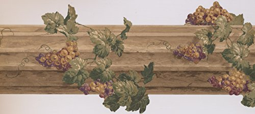 Wallpaper Border Grape (Wallpaper Border - Grapes Wallpaper Border 5163 AU)
