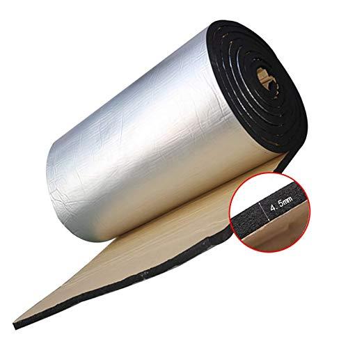Sourcingmap 60cmx100cm 394mil//10mm 6.46sqft Car Heat Sound Insulation Mat