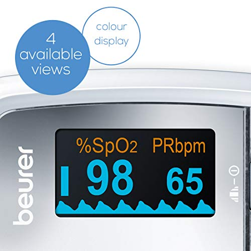 BEURER PO 30 Pulse Oximeter - Silver