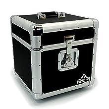 """Gorilla LP100 Holds 100 piezas de 12 cm para discos de vinilo LP 12 """"caja de almacenamiento caso Inc garantía de por vida"""