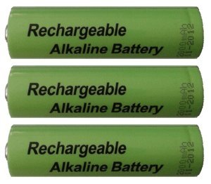 Ambient Weather WS-1000-BATT 3 x AA Rechargeable Alkaline Batteries