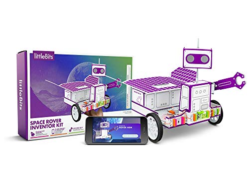 littleBits Space Rover Inventor Kit-Build and Control a Space Rover tech Toy with Hours of NASA-Inspired Missions! (Best Little Bits Kit)
