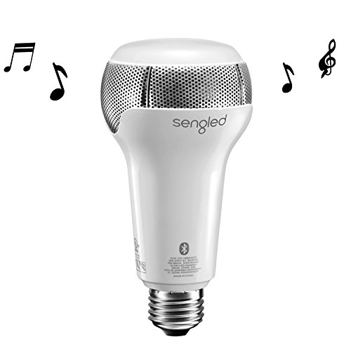 Sengled solo dimmable led bulb with built in dual channel for Led light bulb with built in bluetooth speaker