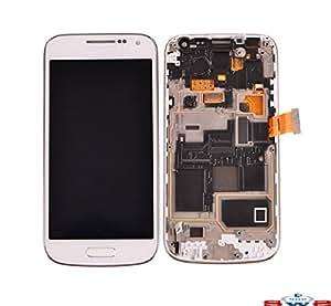 Sws® pantalla de repuesto Original Samsung Galaxy S4 MINI, color blanco, montados: LCD táctil para Samsung Galaxy S4 MINI I9195 () color blanco