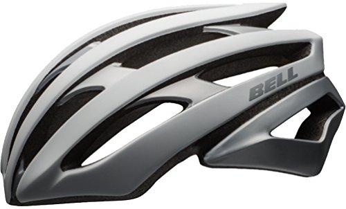 Bell 2017 Stratus Bike Helmet (Matte White/Silver - L)