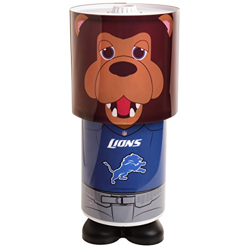 Detroit Lions Mascot Desk Lamp