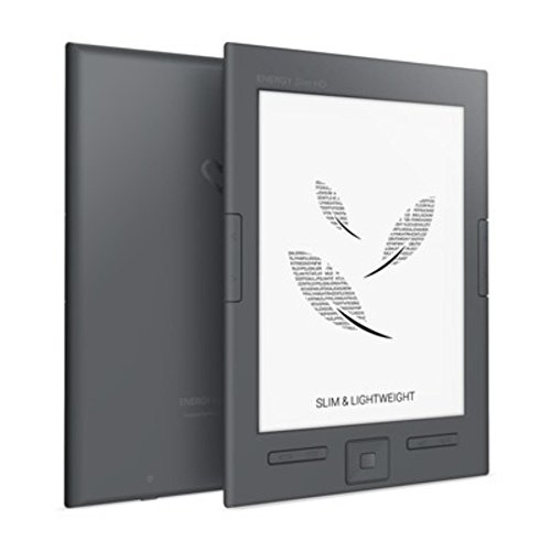 "Energy Slim HD - eReader (6"", Eink Carta HD, Ultraligero, 8GB, botón lateral paso de pagina) Energy Sistem 425051"
