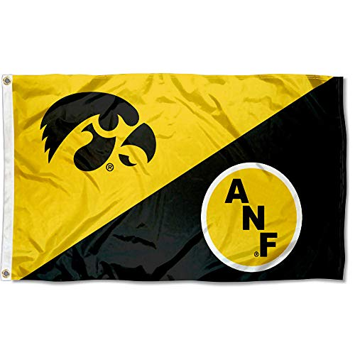 - College Flags and Banners Co. Iowa Hawkeyes America Needs Farmers ANF Flag