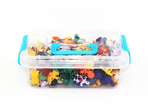 Ultraguards Complete Set Pokemon Figures + Carrying Case (144 pc + Case)