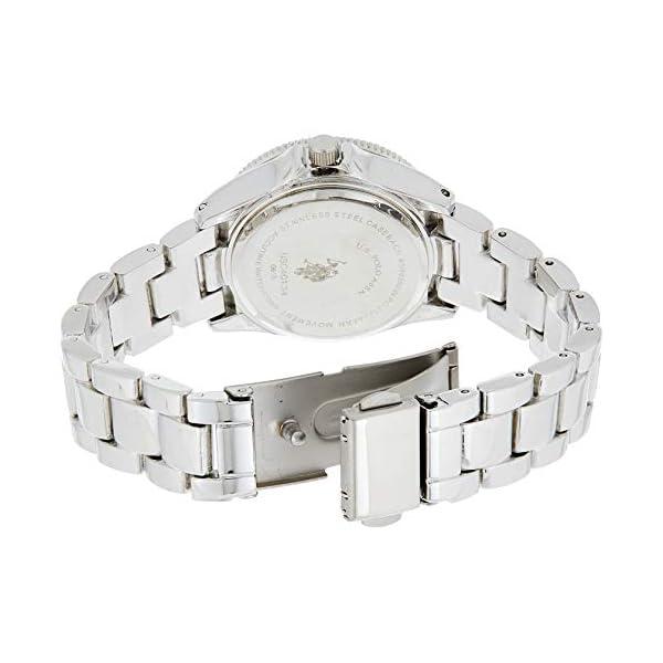 U.S. Polo Assn. Women's Analog-Quartz Watch with Alloy Strap, Silver, 14.5 (Model: USC40134) 10
