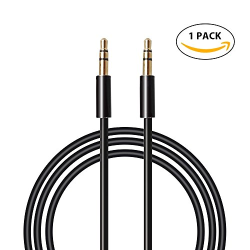 Aux Cable-MAONO AU601 6.6ft 2meters Male to Male 3.5mm Jack Audio Auxiliary Cord for Car, iPhone, Android, Smartphone, PC, Laptop, Speaker, MP3 Player, SL (Halloween Sounds Streaming)