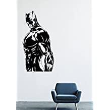 Wall Decals Decor Viny Black Panther Marvel Comics Superhero T'Challa Power Shoes Costume Mask Superpower Claws Africa Nubyyskyy Carbon Tiger Prince Charles, Mr. Luc Okonkvo Male Boy Ornament LM0695