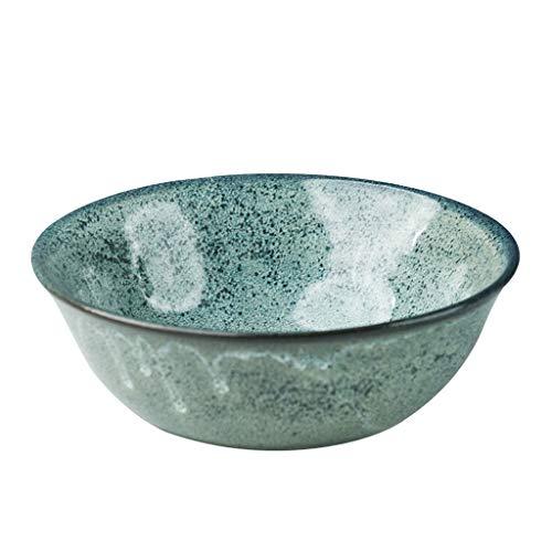 Simplicity Cereal Bowl, Porcelain Salad Bowl, Aqua Green, 0.6L