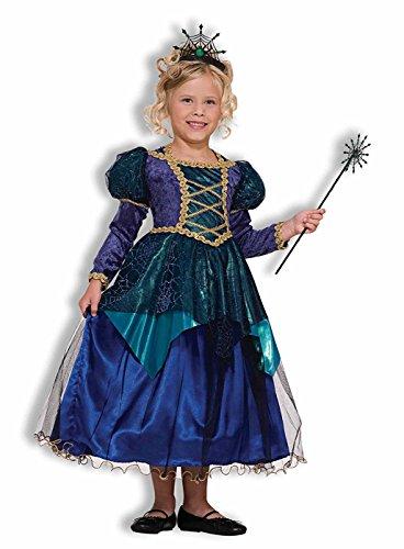 Forum Novelties Sparkle Spider Witch Costume, Child's Medium