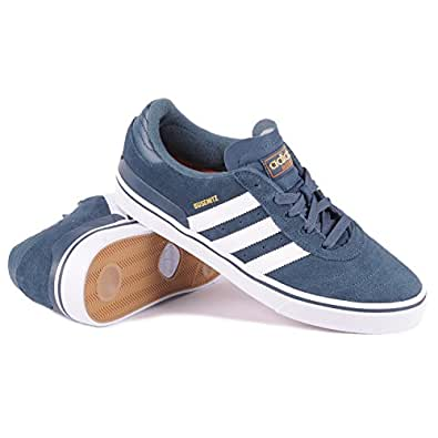 adidas Busenitz Midnight/White / Gold Met Skate Shoes-Men 8.0, Women 9.5