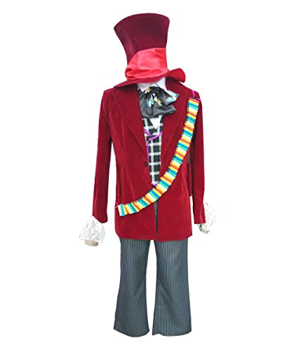 Mad Hatter Costume Images (Mad Hatter Costume, Adult (L) HC-001)