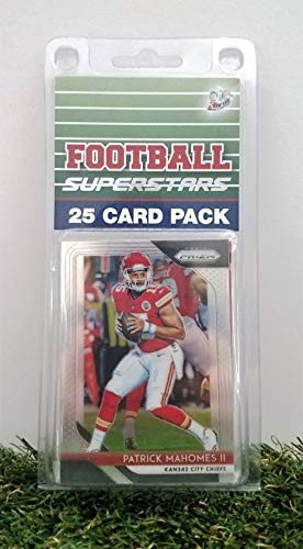Kansas City Chiefs- (25) Card Pack NFL Football Different Chief Superstars Starter Kit! Comes in Souvenir Case! Great Mix of Modern & Vintage Players for the Super Chiefs fan! By 3bros -