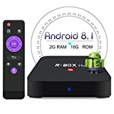 BetterLife88 Android 8.1 TV Box - 2GB RAM 16GB ROM Rockchip RK3328 Quad Core 64 Bits Processor 3D 4K Full Loaded Android TV Box