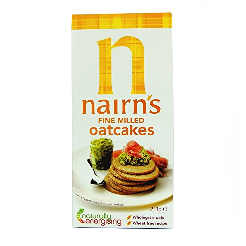 Nairns - Oatcakes - Fine Milled - 218g (Best Oats For Cookies)