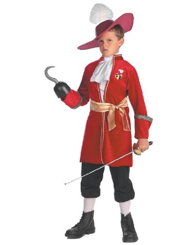 [Toddler Captain Hook Costume - Toddler (3T-4T)] (Captain Hook Costumes Disney)