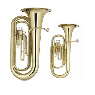 Rs Berkeley Lo-brass Bundle - Student Tuba & Baritone Horn