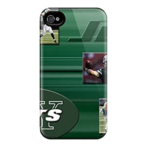 High Impact Dirt/shock Proof Case Cover For Iphone 5s(new York Jets)