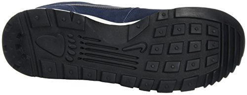 Nike Hoodland Suede, Zapatillas de Senderismo para Hombre Azul (Obsidian / Black-Sail)
