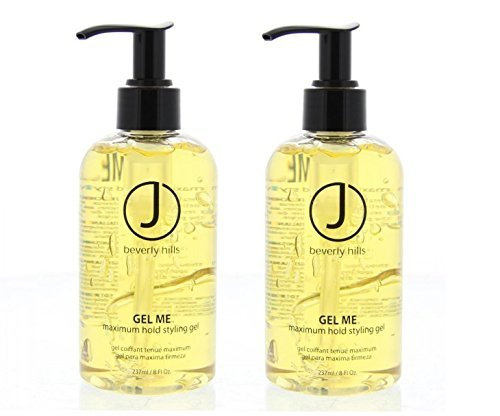 J Beverly Hills Gel Me Maximum Hold Styling Gel 8oz (Set of 2) - Maximum Hold Styling Gel