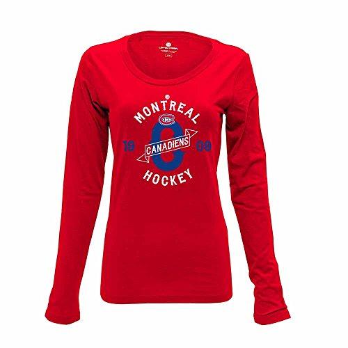 Levelwear NHL Ladies Western Long Sleeve Tee – DiZiSports Store