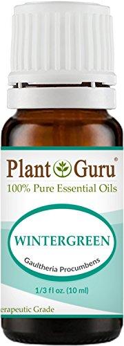 Wintergreen Essential Oil 10 ml. 100% Pure Undiluted Therapeutic Grade.