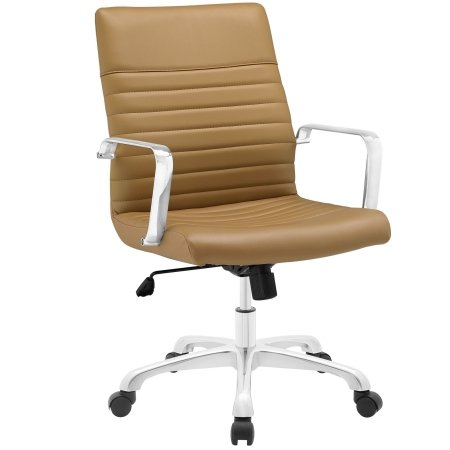 East End Imports EEI-1534-TAN Finesse Mid Back Office Chair,