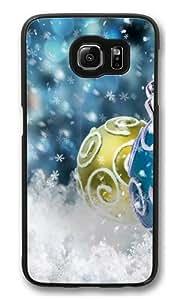 christmas tree bauble Custom Samsung Galaxy S6/Samsung S6 Case Cover Polycarbonate Black