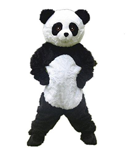 Panda Jing Jing Fuwa Mascot Costume Cospaly Cartoon Character Adult Size (Dude Perfect Panda Costume)