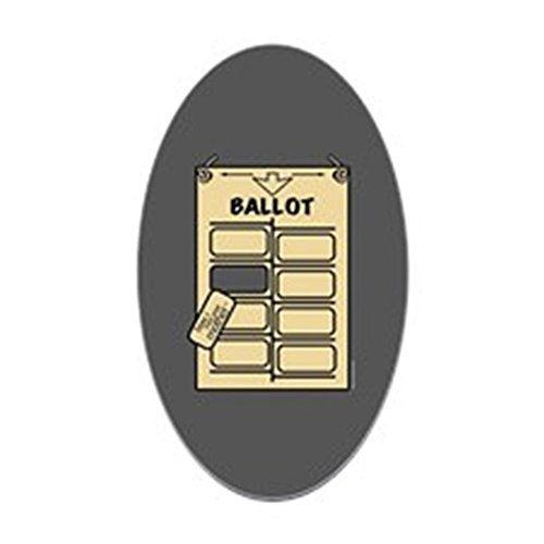 CafePress HIMYM Hanging Chad Oval Bumper Sticker, Euro Oval Car Decal