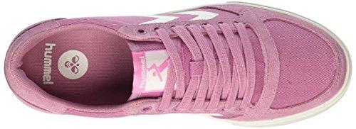 Hummel Damen Slimmer Stadil HB Low Sneaker Pink (Foxglove)