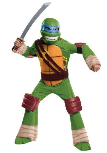 Teenage Mutant Ninja Turtles Deluxe Leonardo Costume, Toddler 1-2