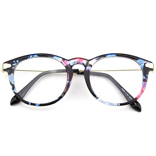 Claro Retro y CGID Para Lente A Hombre Anteojos Gafas CN88 Multicolor Mujer 85qxZq6I